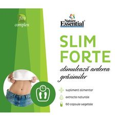 Supliment pentru slabit Slim Forte Green Coffee Complex 2800 mg x 60 capsule, Nature Essential - eMAG. Slime, Essentials, Coffee, Green, Kaffee, Cup Of Coffee