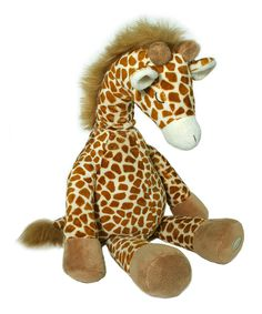 This cuddly plush friend snuggles in with your little one and lulls them to sleep with four different soothing sounds. Just push the button, select one of four sounds, set the volume and automatic time function and your sweetie will drift off to dreamland with a sigh. It plays the gentle sounds of mother's heartbeat, safari groove, safari trail and Victoria Falls and features two time settings - 23 or 45 minutes.