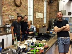Our Head Ho Bobby Chinn in the Saturday Kitchen studio prepping for appearance tomorrow, live on BBC One at 10am!