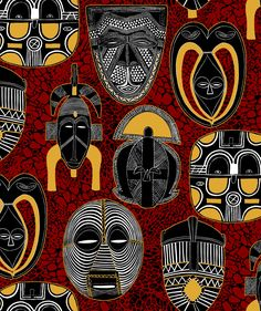 african ethnic motifs - Google Search