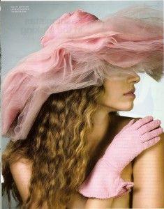 Pink - Hat & Gloves