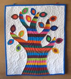 Applique Tree Wall Quilt
