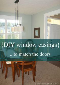 DIY Window Casings