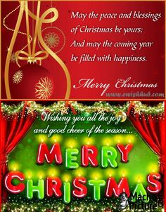 Email christmas greetings for free - 3 PHOTO! | Christmas ...
