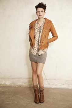 leather hoody jacket from humanoid
