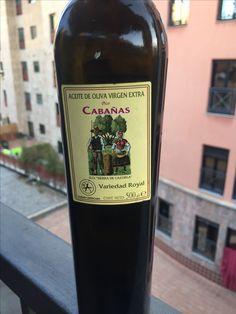 AOVE de Quesada (Jaén) D.O. Sierra de Cazorla. Pico Cabañas, variedad royal, muy aromático y con gran sabor en boca. Me ha gustado mucho #recomiendoprobar