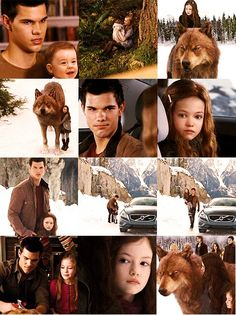Breaking Dawn Part 2. Jacob and Renesmee