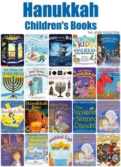 Hanukkah Children's Picture Books | The Jenny Evolution