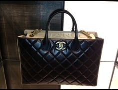 Chanel Black Portobello Bag