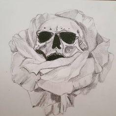 _ _ _ #skulldrawing #skull #drawing #draw #crayon #b#crayon #draw #drawing #skull #skulldrawing Tattoo Images, Tattoo Photos, Tattoo Drawings, Skull Drawings, All Tattoos, Angel Tattoo Men, Big Tattoo, Lower Back Tattoos, Arm Band Tattoo
