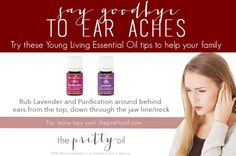 Essential Oils for ear aches and infections-The Pretty Oil by tania