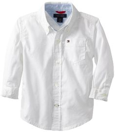 Tommy Hilfiger Baby-Boys Infant Classic Shirt, White, 12 Months Tommy Hilfiger http://www.amazon.com/dp/B00AUVMZT8/ref=cm_sw_r_pi_dp_phE3ub1C3NW4X