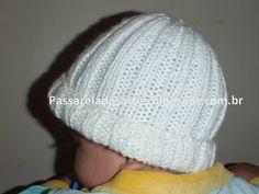 Artes na Passarela: Gorrinho para bebê