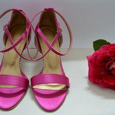 Farebné svadobné topánky - Barevné svatební boty, colour wedding shoes, cyklaménová, Sandals, Shoes, Fashion, Moda, Shoes Sandals, Zapatos, Shoes Outlet, Fashion Styles, Shoe