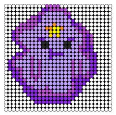 Lumpy Space Princess Perler Bead Pattern | Bead Sprites | Characters Fuse Bead Patterns Fuse Bead Patterns, Kandi Patterns, Perler Patterns, Beading Patterns, Cross Stitch Patterns, Fuse Beads, Pearler Beads, Adventure Time Crafts, Kawaii Quotes