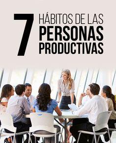 7 Hábitos de las personas  productivas | Bauhaus Media Production | #Productividad #Tips