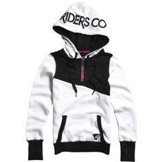 FOX Racing cornered zip up hoodie.