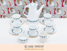 Figgjo Flint Norway: Figgjo Flint Coffee Set - does anybody know the name of this pattern?