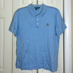 ☘Ralph Lauren blue brand new polo shirt. Brand new with a tag. Lauren Ralph Lauren Tops Tees - Short Sleeve