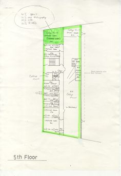 Architectural plan: Library plan for Kent Institute of Art and Design.