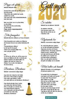 Ladda hem och skriv ut gratis sånghäfte till nyårsfesten!  #sånghäfte #vinvisor #nyårsvisor #nyår #nyårsfest #firafest #grapevine