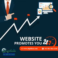👉 Your website can be the vehicle that helps you achieve your goals of better awareness, more leads and ultimately more happy customers.  🤳 Get Free Consultation Call Us: 📲+91 901-503-2155 👉 Visit: 🌐 www.digitlism.com  #digitlism #seo #searchengineoptimization #digitalmarketing #marketing #webdesign #business #branding #onlinemarketing #website #advertising #marketingtips #entrepreneur #smallbusiness #startup Digital Marketing Services, Online Marketing, Achieve Your Goals, Graphic Design Services, Business Branding, Search Engine Optimization, Seo, Promotion, Entrepreneur