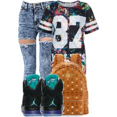 I'm in love with this one. But school fit 4 I think., created by mindlesspolyvore on Polyvore