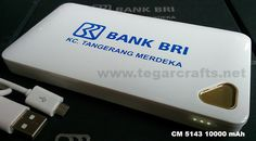 Powerbank CM 5143 10000mAh. A proper choices for leasing, financial or banking merchandise
