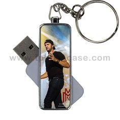 USB FLASH Capacity is 8GB Design With luke bryan