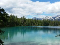 Lake Annette, Jasper National Park, Canada