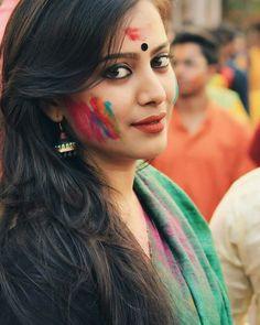 Image may contain: 1 person, closeup Beautiful Girl In India, Beautiful Girl Image, Beautiful Indian Actress, Beautiful Gorgeous, Beautiful Actresses, Beauty Full Girl, Beauty Women, Holi Girls, Girl Photography Poses