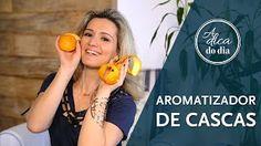 Use uma mistura de cascas de frutas e especiarias para deixar sua casa com um perfume agradável. Confira as sugestões de Flávia Ferrari para combinar aromas de uma forma agradável em mais este vídeo do #aDicadoDia