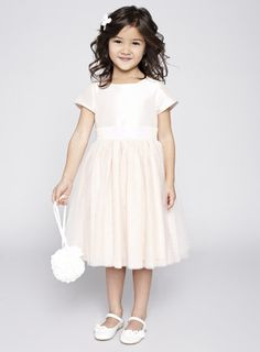 Alexa Blush Flower Girl Dress - BHS