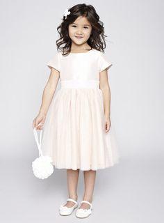 Alexa Blush Flower Girl Dress - BHS