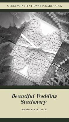 Pocketfold Invitations, Bespoke Wedding Invitations, Wedding Boxes, Wedding Ideas, Butterfly Wedding, Ribbon Colors, Colour Schemes, Beaded Lace, Color Splash