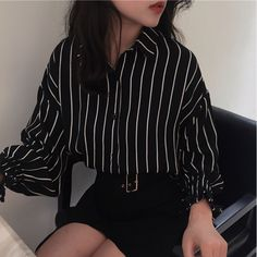 ғ�ʟʟ�ᴡ �ᴇ ☆ Korean fashion outfits ideas grunge outfit inspiration work fashion style Impressive School Outfits Ideas To Wear This Winter Korean Fashion Edgy Outfits, Mode Outfits, Girl Outfits, Fashion Outfits, Fashion Ideas, Cute Grunge Outfits, Fashion Belts, Fashion Pics, Fashion Clothes