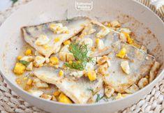 Zapomniany przepis na rybę po polsku z jajkiem. Prosto i niesamowicie pysznie Hummus, Seafood, Soup, Meat, Chicken, Dinner, Pierogi, Cooking, Ethnic Recipes