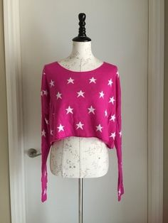 My Wildfox Couture Starlight Cropped Billy Sweater by wildfox! Size 8 / M for $$120.00. Check it out: http://www.vinted.com/womens-clothing/sweaters/20860941-wildfox-couture-starlight-cropped-billy-sweater.