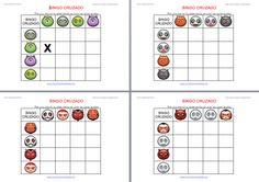 Orientación Andújar: Actividades de Halloween primaria e infantil Bingo Cruzado  2014