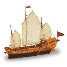 Ship model Red Dragon, wooden kit Artesania Latina (www.victoryshipmodels.com)