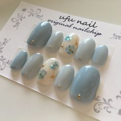 Pin on ネイルデザイン Korean Nail Art, Korean Nails, Minimalist Nails, Gem Nails, Bling Nails, Nail Swag, Asian Nails, Nagel Bling, Kawaii Nails