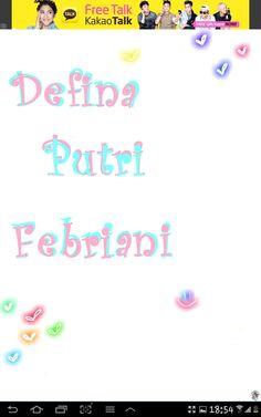 Defina Putri Febriani ♥♥