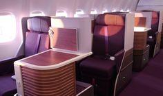 Thai A380/77W New Royal Silk Business Class