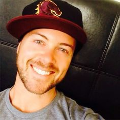 Dan Feuerriegel. God, that smile could cure cancer.