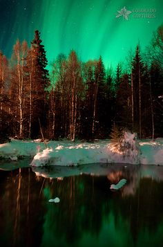 Reflecting On A Dream - Alaskan Northern Lights | Flickr - Photo Sharing!