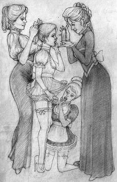 angelsdisciple: Une partie de la belle sissy-art de Kimberly Wilder.  Je ne l'ai pas vu un nouveau dessin de Kim pendant de nombreuses années.  Peut-être qu'elle est morte ou a la religion.  Qui sait?