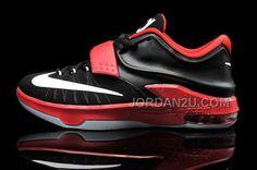 http://www.jordan2u.com/cheap-nike-kd-7-black-bright-red-white-mens-basketball-shoes.html Only$88.00 CHEAP #NIKE KD 7 BLACK BRIGHT RED WHITE MENS BASKETBALL #SHOES #Free #Shipping!