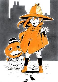 Kosal (@petitcarreau) | Twitter Halloween Illustration, Illustration Sketches, Character Illustration, Illustrations, Art Sketches, Cute Halloween Drawings, Anime Halloween, Halloween Painting, Girl Halloween