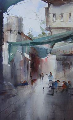 Ilya Ibryaev #watercolor jd