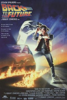 back to the future movie poster part i 27x40 michael j fox drew struzan 1 from $9.95